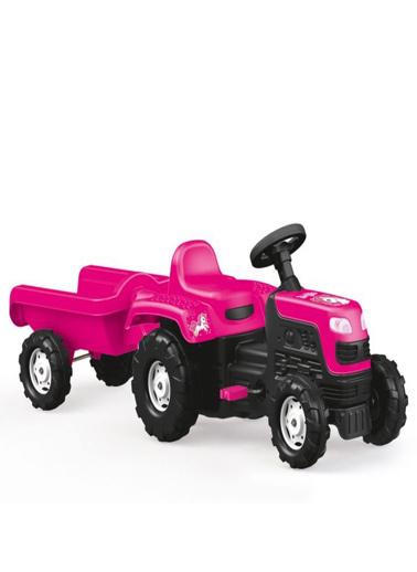 Dolu Dolu Unicorn Römorklu Pedallı Traktör 2508 Renkli